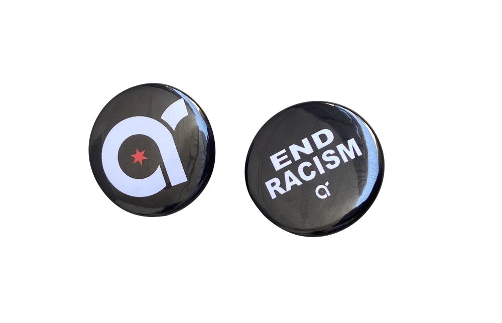 Image of Signature Logo/End Racism Buttons