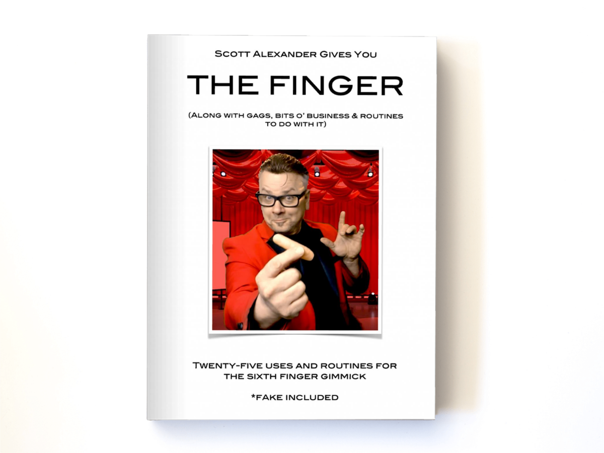 Image of The Finger - Gags, Bits, and Routines (with Video)