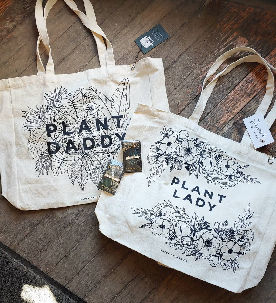 Image of Plant Lady/ Plant Daddy Cotton Tote Bag
