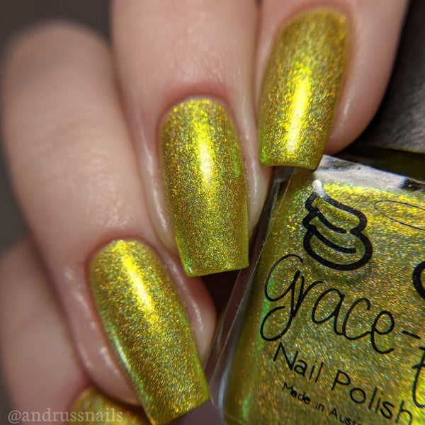 Image of Random - yellow holo with yellow shimmer