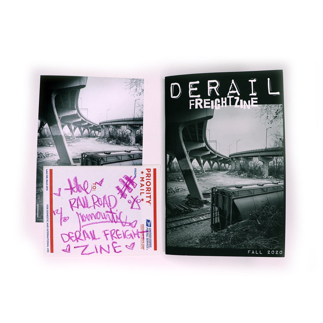 Image of DERAIL FALL '20 - DERAIL FREIGHT ZINE