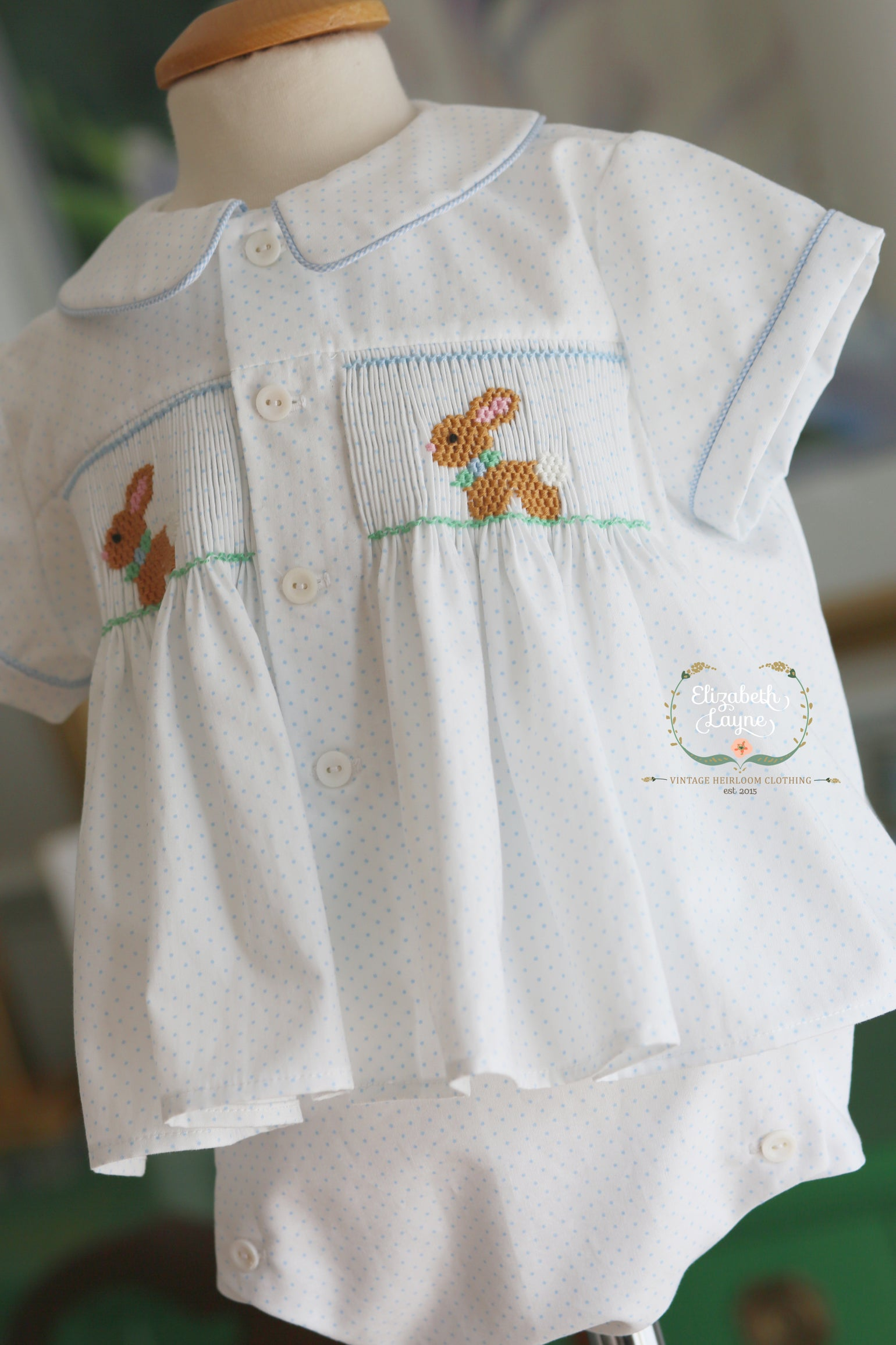 Image of Andrew Hand Smocked Collection