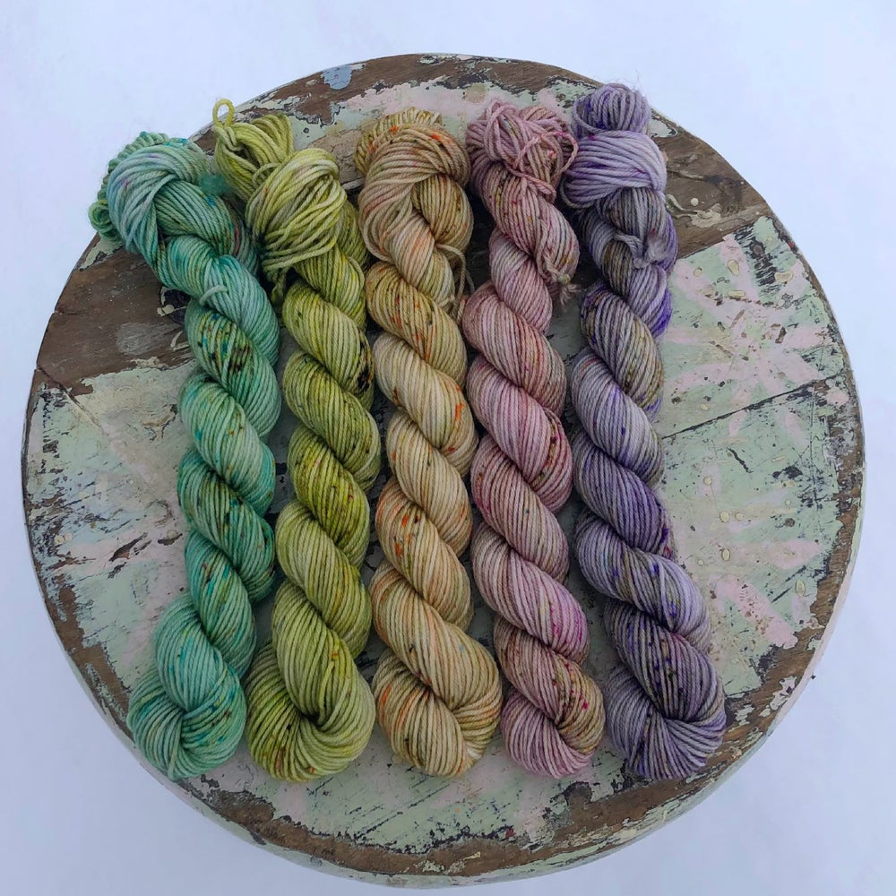 Image of April Showers mini skeins