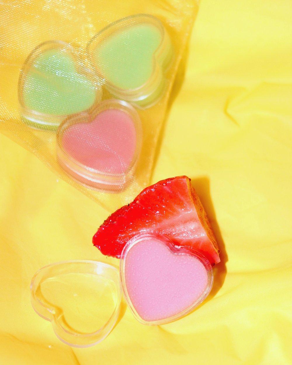 Image of STRAWBERRY 🍓 KIWI 🥝 lip balm duo