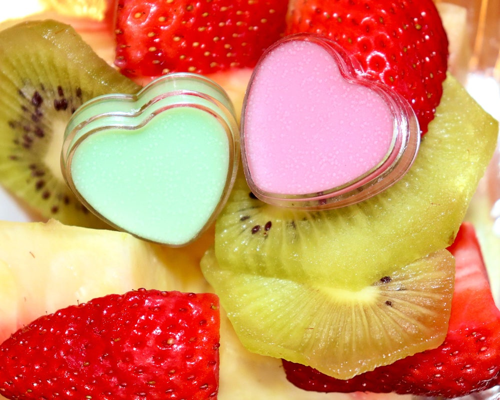 Image of STRAWBERRY � KIWI � lip balm duo