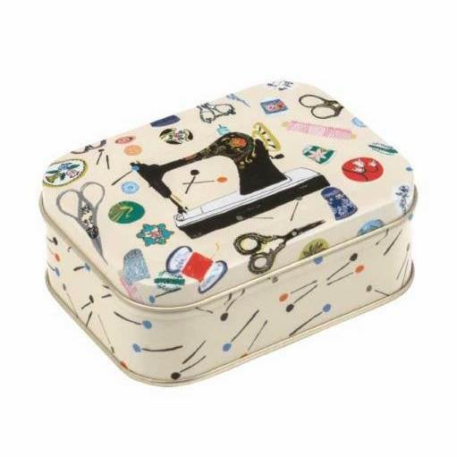 Image of Sewing themed tin