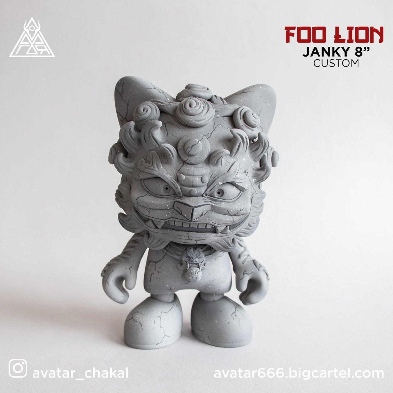 "Image of FOO LION JANKY 8"""
