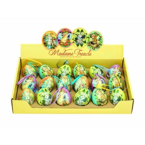 Image of Mini tin hanging eggs
