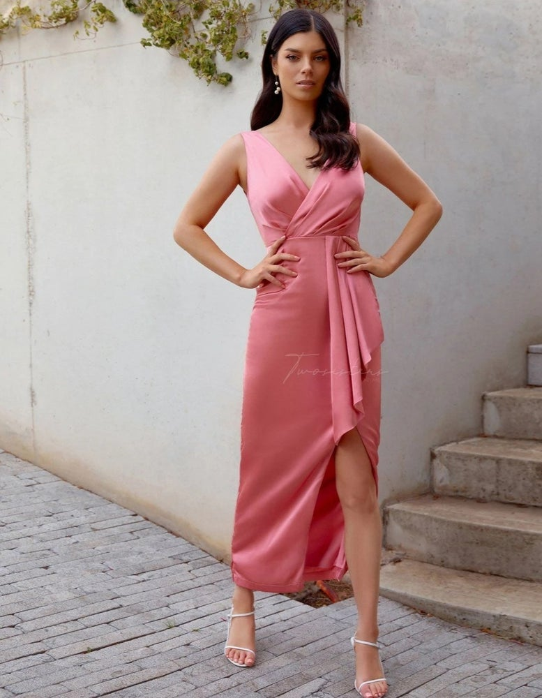 Image of Goddess Dress. Pink. Two Sisters the Label.
