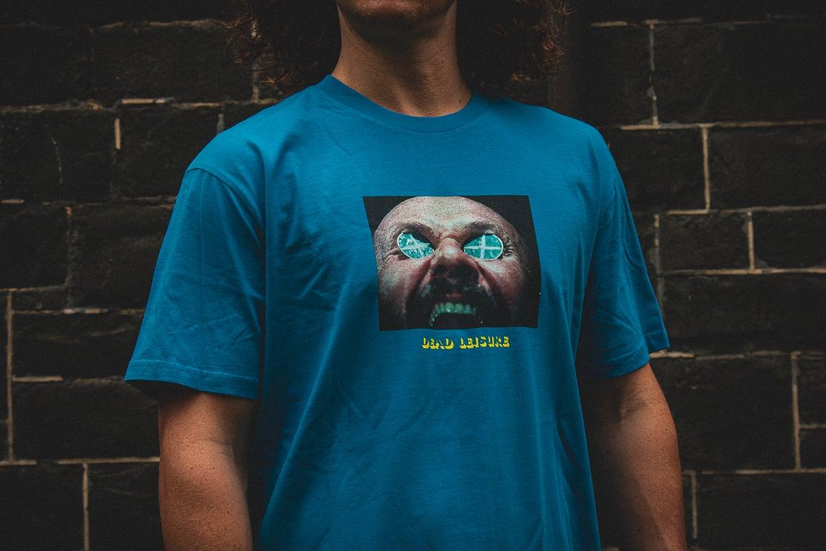 Awake & Afraid T-shirt - Blue