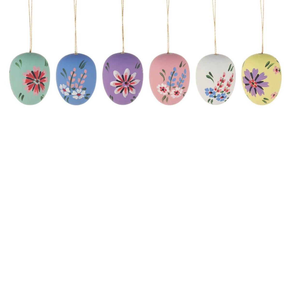 Image of Easter Tree Decoration- Silk Eggs