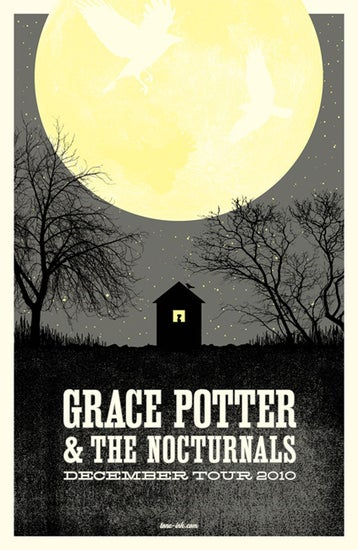 Image of Grace Potter & The Nocturnals - December Tour '10