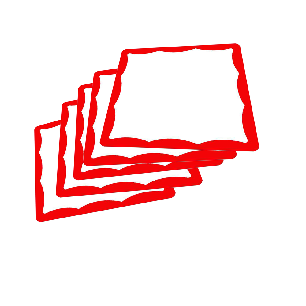 Image of Square Border Blanks