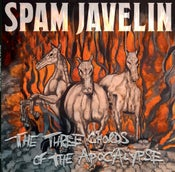 Image of SPAM JAVELIN 'THE THREE CHORDS OF THE APOCALYPSE' LP (SPLATTER VINYL)