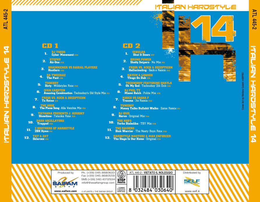 ATL445-2 // ITALIAN HARDSTYLE 14 (DOPPIO CD COMPILATION)