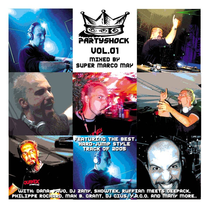 ATL150-2 // PARTYSHOCK VOL.1 (DOPPIO CD COMPILATION)