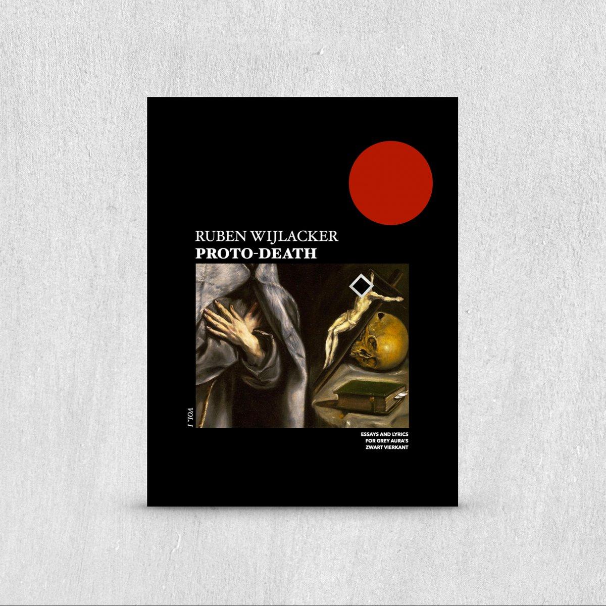 Image of Grey Aura - PROTO-DEATH VOL. 1 BOOK PRE-ORDER