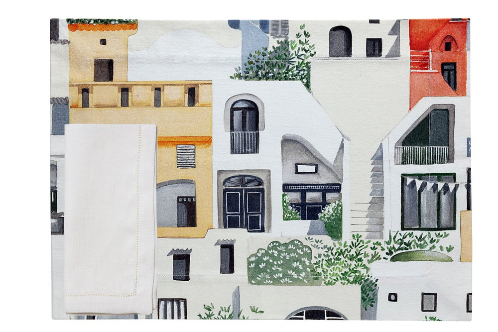 Image of Tovaglietta americana Amalfi Coast - Amalfi Coast placemat