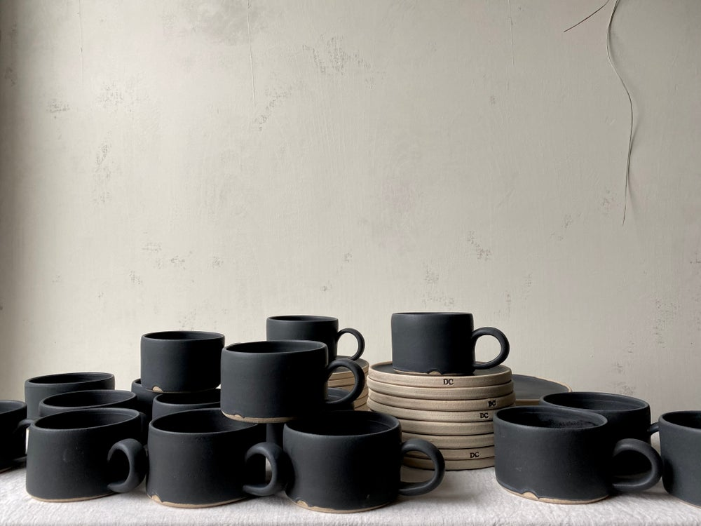 Image of Coffee mug | black by Dantes Ceramics