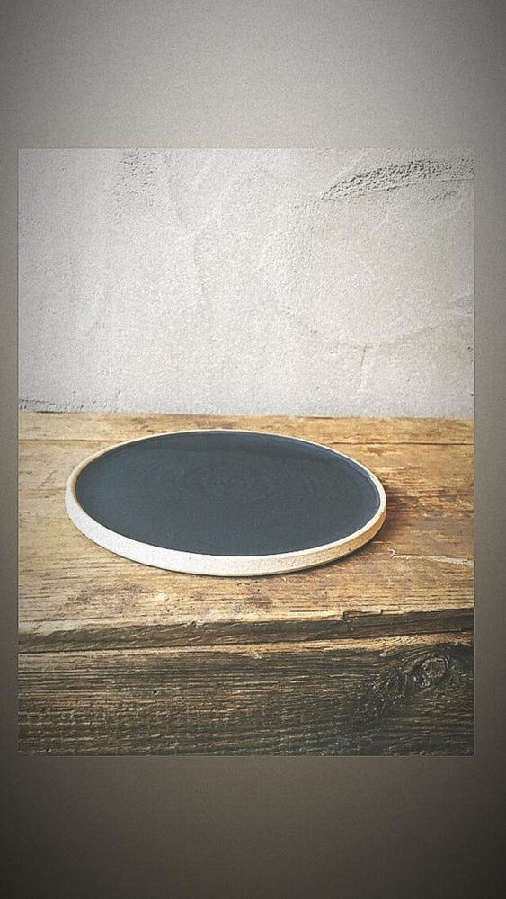 Image of Simple small plate | black by Dantes Ceramics
