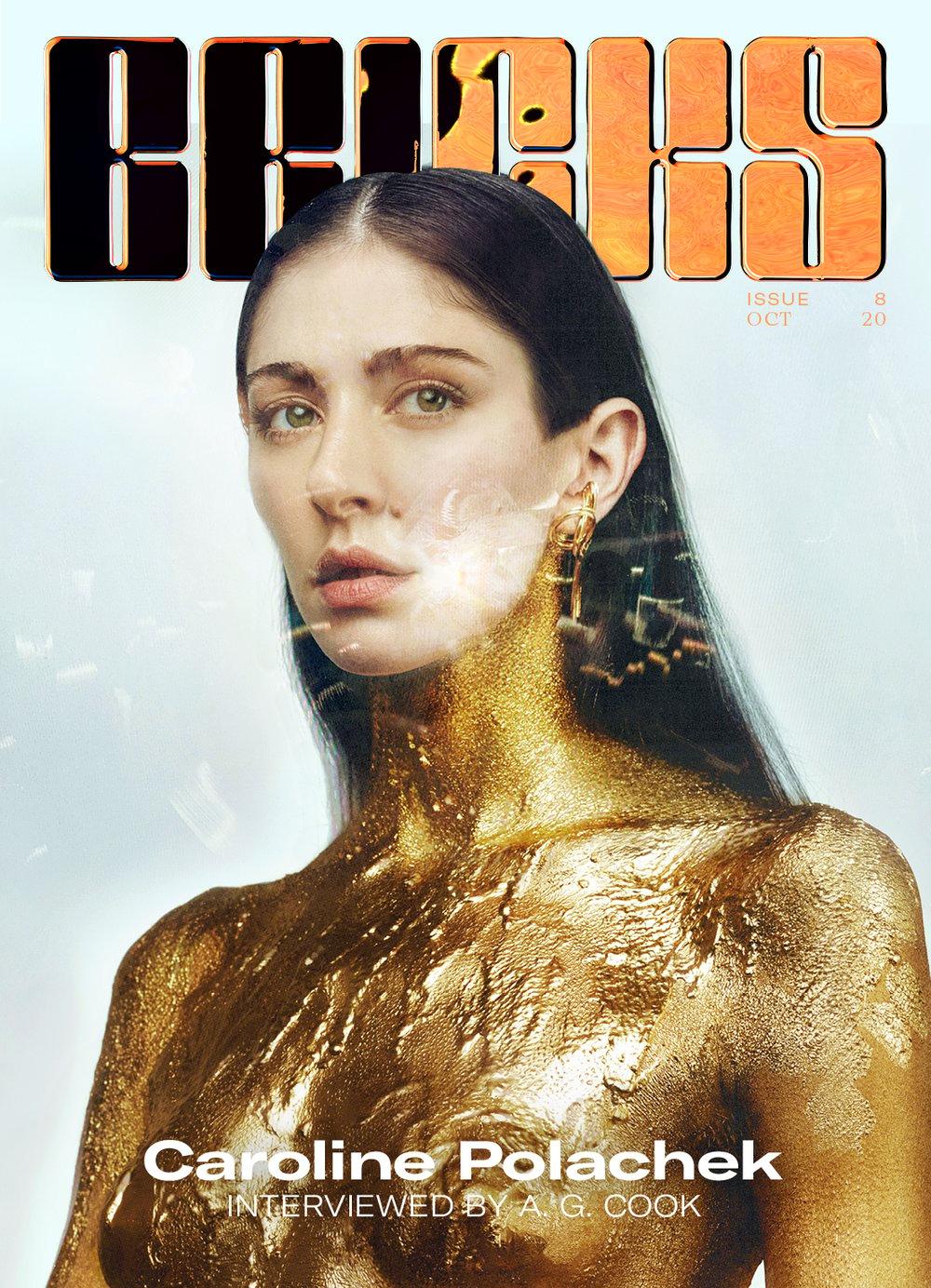 Image of #8 - The Let's Evolve Issue  - Caroline Polachek