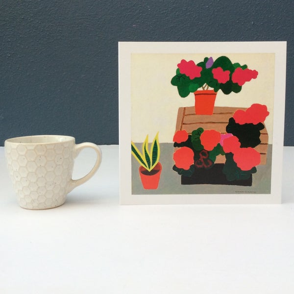 Image of Flowers at the Florist card