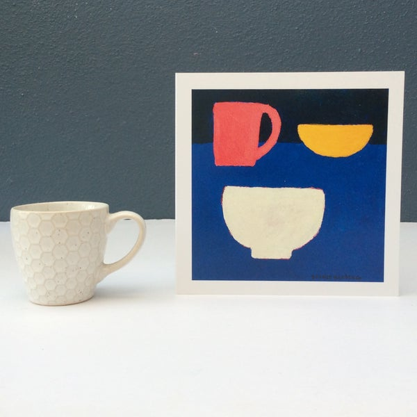 Image of Cup, Bowl and Small Dish card