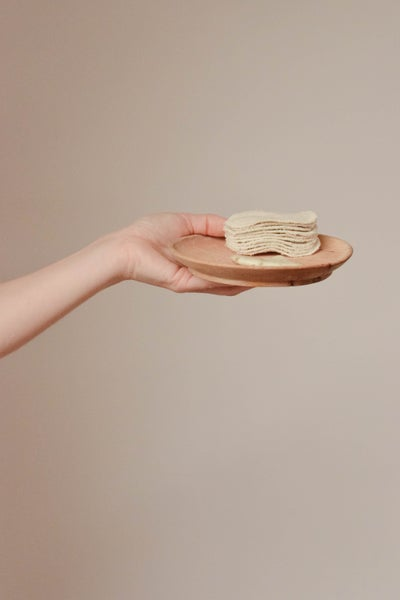 Image of Reusable Linen-Cotton Cosmetic Pads