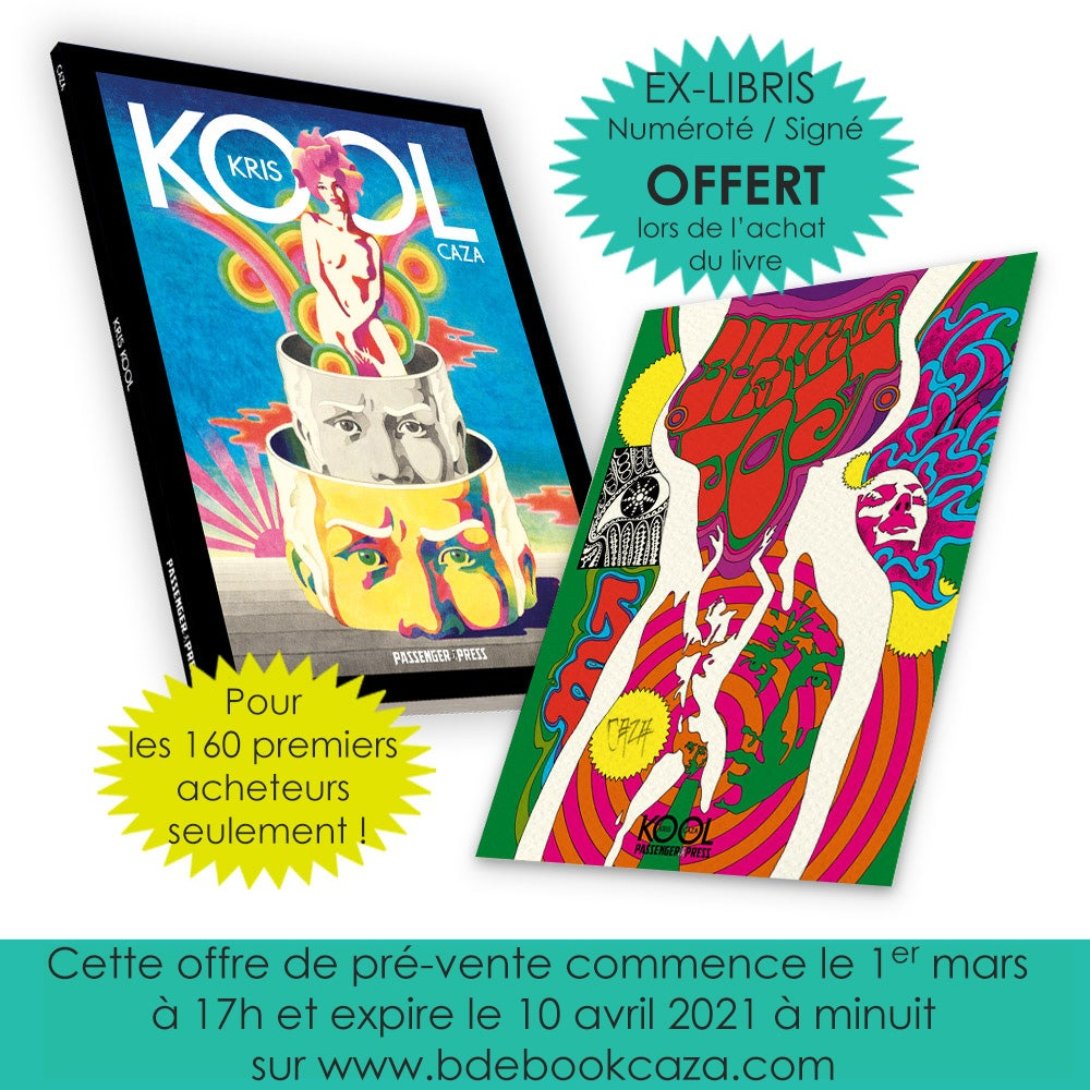 KKPack - 5 copies of KRIS KOOL (French language edition) ONLY FOR RETAILERS