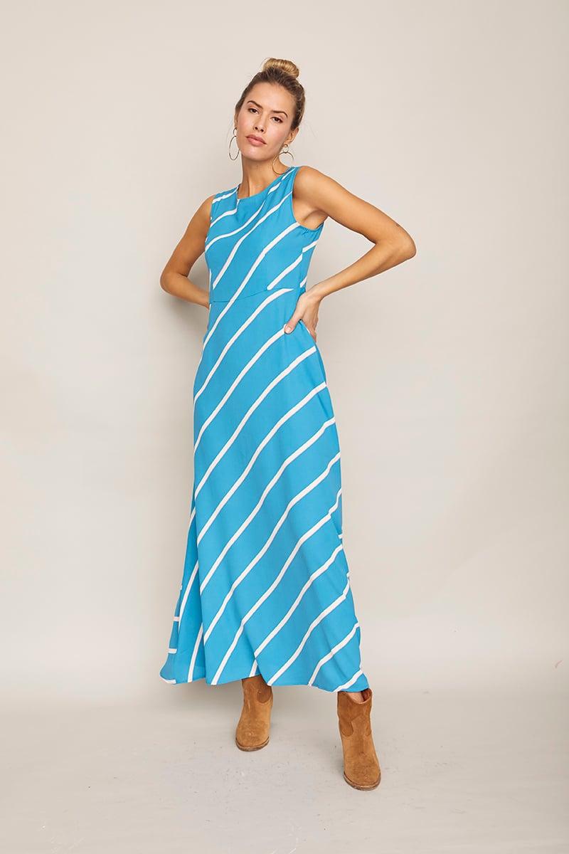 Image of Vestido Papaya Azul
