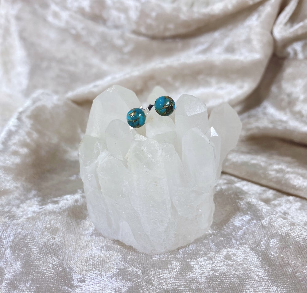 Image of Turquoise studs