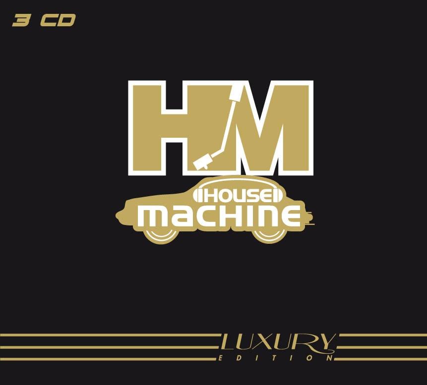 ATL764-2 // HOUSE MACHINE - LUXURY EDITION (3 CD)
