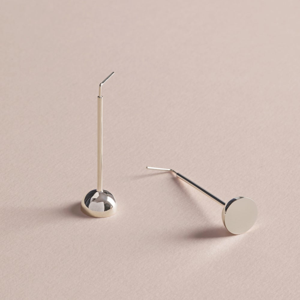 Image of DOME/HANGING EARRINGS