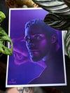 Chadwick Boseman A4 Print