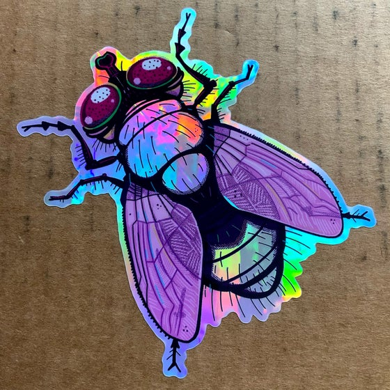 Image of Holo-Fly Sticker