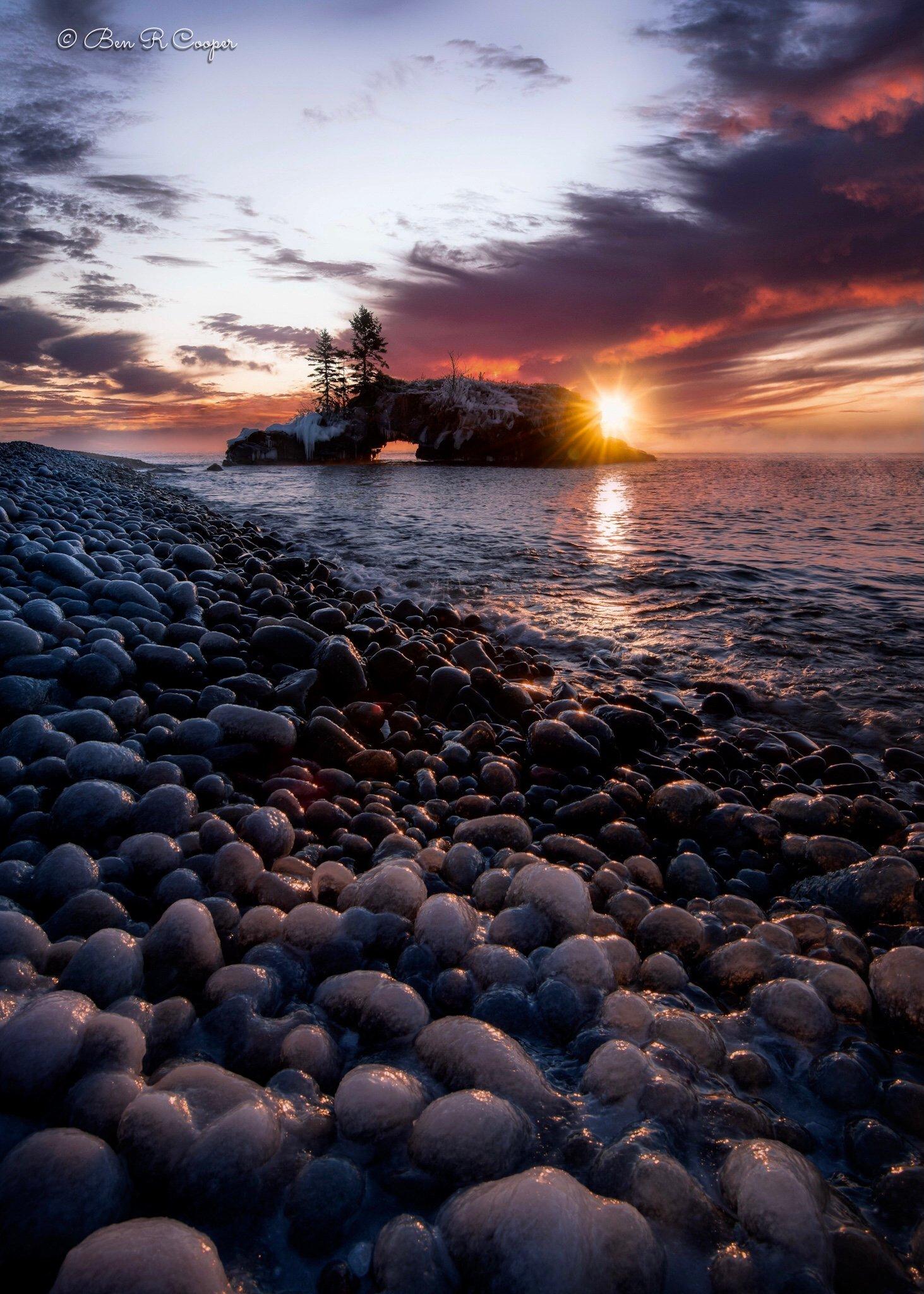 Daybreak on the North Shore
