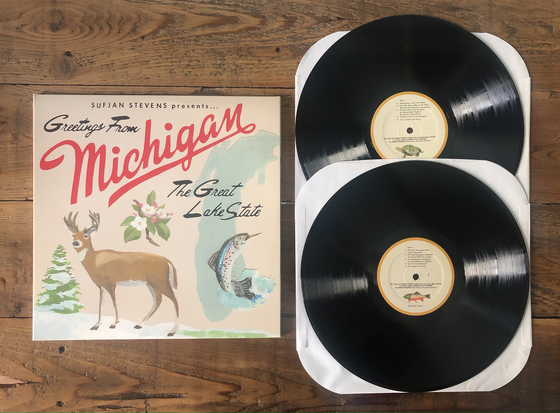 Image of Sufjan Stevens - Michigan (Used)