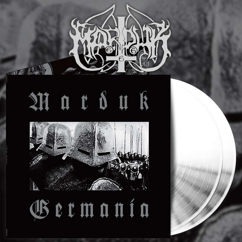 Image of Marduk - Germania white DLP