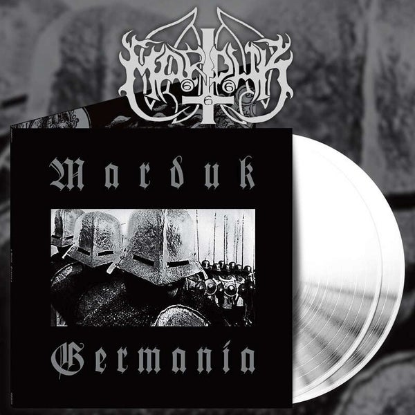 Image of Marduk - Germania white DLP