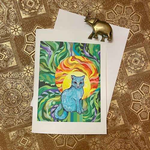 Image of Little Cat Blank Card