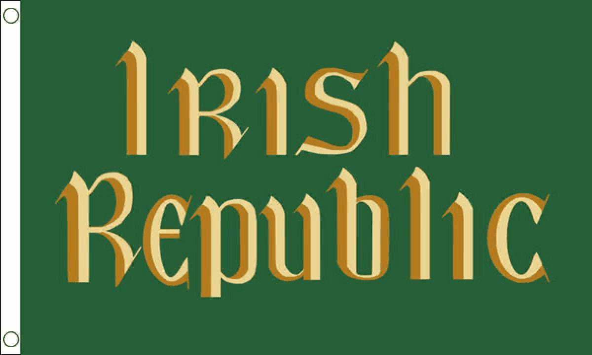 Image of The Flag of the Irish Republic