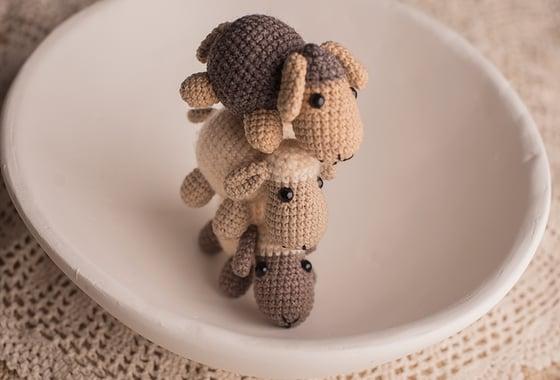 Image of NELA little crochet lamb