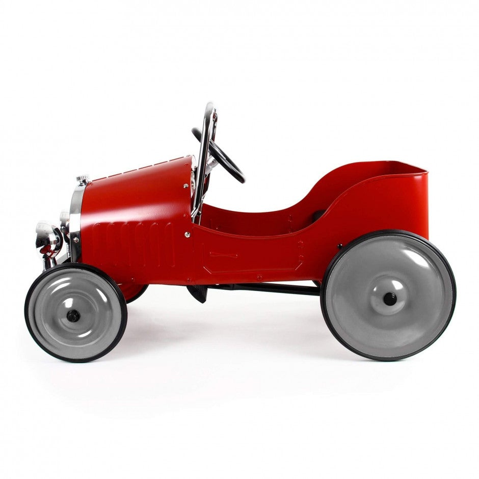 Image of Classic Red Pedal Car