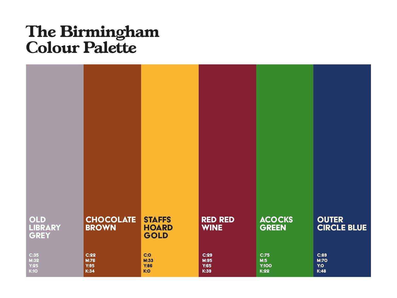 Image of Birmingham Colour Palette 4