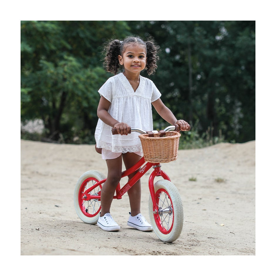 Image of Vintage Balance Bike - AVAILABLE IN PINK, RED & BLUE