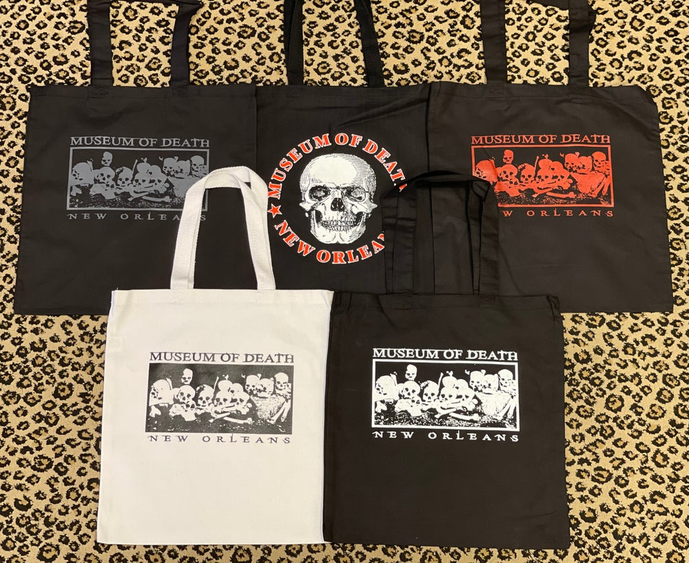 Image of Museum of Death New Orleans Totes