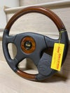 Momo Olympic leather x wood 365mm steering wheel NOS