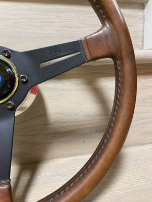 Nardi classic brown leather steering wheel 365mm