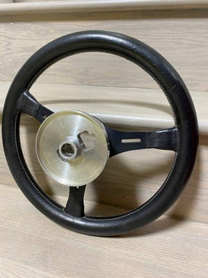 Momo ronnie peterson 350mm leather steering wheel