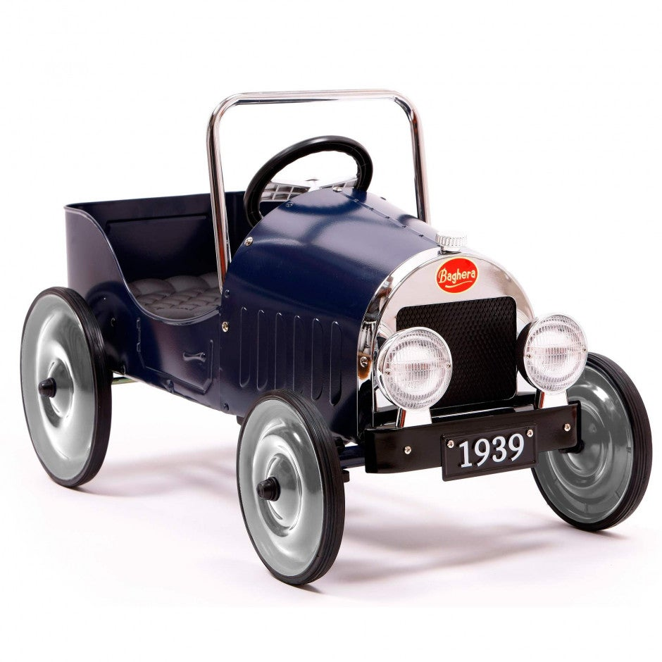 Image of Classic Blue Pedal Car